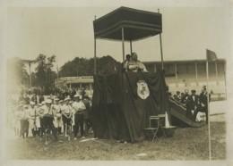 France Antony Fête Religieuse Harmonie Municipale? Ancienne Photo Lemesle 1905 - Lieux