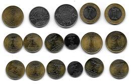 (Monnaies). Arabie Saoudite Lot N°1. 17 Pièces - Saudi Arabia