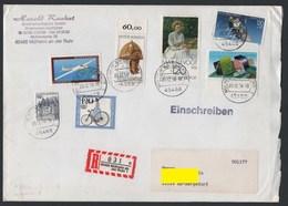 Germany 1994 Multi Franked Registered Cover Mulheim An Der Ruhr 20-12-94  (Ref: 1666) - BRD
