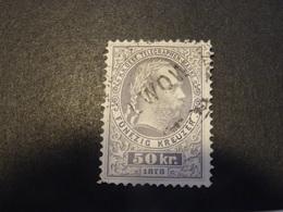 AUTRICHE  Télégraphe 1874-76 - Gebruikt