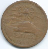 Mexico - 1944 M - 20 Centavos - KM439 - Mexico