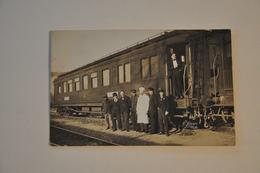 Carte Photo GRANDS EXPRESS EUROPEENS - Trains