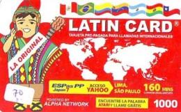 Télécarte Japon *BRÉSIL Reliée * BRAZIL Related (70) BRAZILIE * Telefonkarte Phonecard Japan * - Paysages