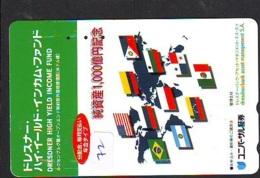 Télécarte Japon *BRÉSIL Reliée * BRAZIL Related (72) BRAZILIE * Telefonkarte Phonecard Japan * - Paysages