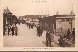 France ** & Postal,  Nice, Promenade Des Anglais Munier Editeur D Art Aquarium (34) - Nizza