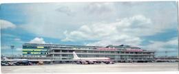 Aéroport D'ORLY : Carte Grand Format 9 X 23 Aire De Stationnement Et Avions - Aeródromos