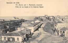20-6373 : CRETE. VILLE DE LA CANEE. CASERNE RUSSE. - Grecia
