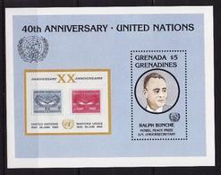 Grenada-Grenadines, 1985,  Block UNO - Dag Hammarskjöld