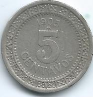 Mexico - 1905 M - 5 Centavos - KM421 - Mexico