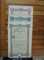 HONGRIE - BUDAPEST 1897 - LOT 3 TITRES: 3 VALEURS DIFFERENTES - EMPRUNT 3 12% - OBLIGATION 100, 500,1000 COURONNES - Actions & Titres