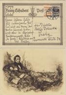 Österreich - 10 Gr. Schubert Sonderganzsache + Zusatz I.d. CSSR Mariazell 1928 - Entiers Postaux