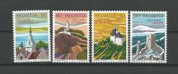 Switzerland 1987 Tourism  Y.T. 1280/1283  ** - Switzerland