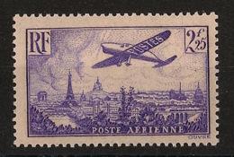 France - 1936 - Poste Aérienne PA N°Yv. 10 - Avion 2f25 Violet - Neuf Luxe ** / MNH / Postfrisch - 1927-1959 Postfris