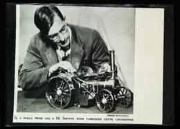 Jouet Miniature   MACHINE MOBILE à VAPEUR     - Coupure De Presse (illustration) De 1931 - Magazines