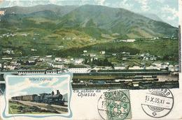 CHIASSO - UN SALUTO DA CHIASSO  (GARE) - TI Ticino