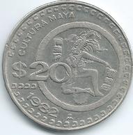 Mexico - 1982 - 20 Pesos - Pelota Player - KM486 - Mexico