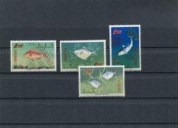 Taiwan 1965 Fishes Mich. € 45,00 MNH. - 1945-... Republic Of China