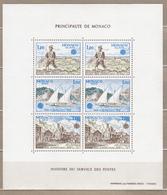 EUROPA 1979 Monaco Mi Bl 15, Yv Bl 17 Sc 1180a MNH (**) # 20805 - Blocs