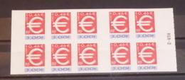 France - 1999 - N°Yv. BC24 - Carnet Adhésif EURO - Neuf Luxe ** / MNH / Postfrisch - Sellos Autoadhesivos