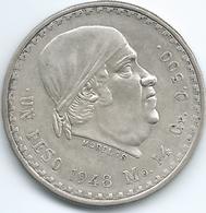 Mexico - 1 Peso - 1948 Mo - KM456 - Mexico