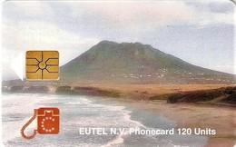 *ANTILLE OLANDESI - ST. EUSTATIUS* - Scheda Usata - Antille (Olandesi)