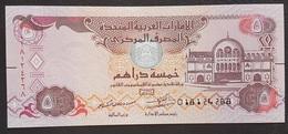 EM0305 - UAE 5 Dirham Banknote 2017 #018124268 UNC - Emirats Arabes Unis