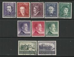 D - Occ. Tedesca POLONIA 1942  Personaggi + Hitler + Vedute N. 107 /16 Usati E Non - 3 Serie - Cat. 7 € - Lotto N. 2948 - Occupation 1938-45