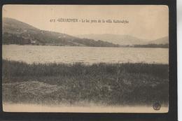 GERARDMER - Le Lac Près De La Villa Kattendyke  (Cuny N° 425) - Gerardmer