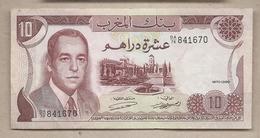 Marocco - Banconota Circolata Da 10 Dirhams P-57a -1970 # 18 - Marruecos