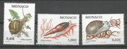 MONACO - MNH - Animals - Reptiles - Snails - 2002 - Autres