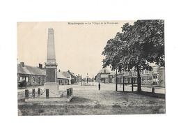 Cpa MONDREPUIS  Le Village Et Le Monument - Other Municipalities