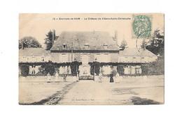 Cpa Environs De HAM Le Chateau De Villers St Christophe - Ham