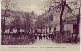 (21). Dijon. Institution Nicey Et Terrial. Cour De Récreation - Dijon