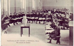 (21). Dijon. Institution Nicey Et Terrial. Cours De Dessin - Dijon
