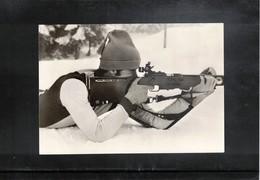 Germany Biathlon Mathias Jung Postcard - Wintersport