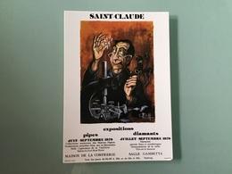 SAINT-CLAUDE — Affiche Exposition 1978 - Saint Claude