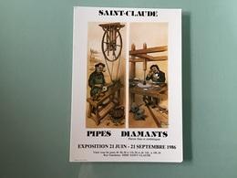 SAINT-CLAUDE — Affiche Exposition 1986 - Saint Claude