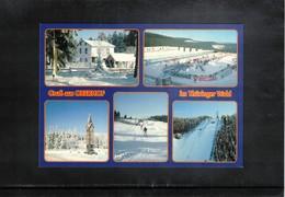 Germany Biathlon  Sport Center Oberhof Postcard - Wintersport
