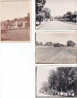 4 Photos Anciennes Arrivée Du Train à Bamako Mali 1924 Peut être ? Tirailleurs Sénégalais - Trenes