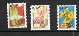 Préoblitérés; N°250/252**(Fleurs Orchidées V) Cote 9,00€ (sans Charnière) - 1989-....