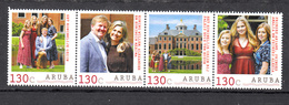 Nederland Aruba 2020, Nvph ?? , Mi Nr ??,  Koning Willem Alexander, Koningin Maxima, Prinsessen Ariane, Amalia, Alexia - Curaçao, Antille Olandesi, Aruba