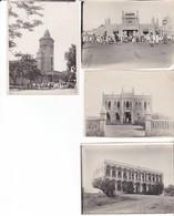 4 Photos Anciennes Mali Bamako Maisons Cathédrale Marché - Lugares