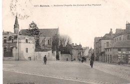 CPA RENNES - ANCIENNE CHAPELLE DES CARMES ET RUE MARTENOT - Rennes