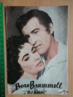 Prog 38 - Beau Brummell (1954) - Stewart Granger, Elizabeth Taylor, Peter Ustinov - Cinema Advertisement
