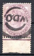 GRANDE BRETAGNE - 1881 - N° 73 - 1 D. Violet - (Victoria) - Usati