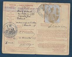 Carte D'Identité Militaire D'un Médecin Major  De L'Ambulance 1/87 - Documents