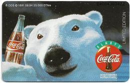 Germany - Karstadt Edition No. 2 - Asia Point, Coca Cola (Polar Bear) - O 1891 - 09.94, 6DM, 25.000ex, Mint - Deutschland