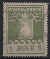 Greenland 1919 Parcel Post 1 Ore Olive Facit P4II (Ref: 1468) - Parcel Post