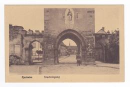 67 ROSHEIM Vers Molsheim Stadteingang Vierge PUB Chicoré Cichorie Arlatte Homme Avec Rateau Jul Manias & Cie Strasbourg - Molsheim