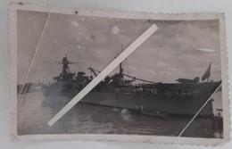 1930 1945 Croiseur Primauguet Classe Algérie Tenues Tropicales Canon 203mm  Marine Escadre Ww2 1939 1945 2 Photos - War, Military
